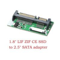 "1.8"" ZIF LIF CE SSD HDD to 2.5inch SATA 7+15 Pin Converter Card with Cable"