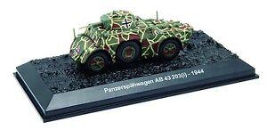 AMERCOM 1/72 ACBG66 – Panzerspaehwagen AB 43 203 ITALIAN ARMORED CAR GERMAN USE