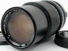 NEAR MINT OLYMPUS OM-ZUIKO AUTO-ZOOM 75-150mm f/4 ZOOM LENS w/LensCap FROM JAPAN