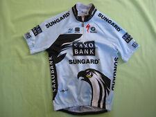 Maillot cycliste Saxo Bank Team 2010 Sungard Sportful Vintage enfant - 6 / 7 ans