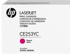 original HP Toner ce253yc ce253a magenta rot CP3525 CM3530  CM3550 A-WARE