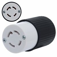 30 Amp 125/250V NEMA L14-30R Twist Lock 4-Wire Electrical Female Plug Receptacle