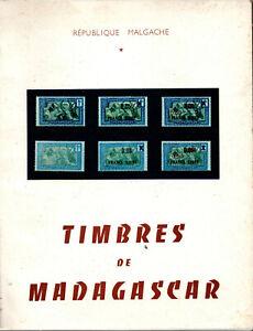 Etude monographique Timbres de Madagascar