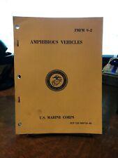 Usmc Amphibious Vehicles Fmfm 9-2 Us Marine Corps Pcn 139 000750 00 June 1971