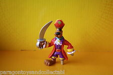 SCOOBY DOO MYSTERY MATES LOOSE MINI FIGURE Pirate Captain Scooby in Red