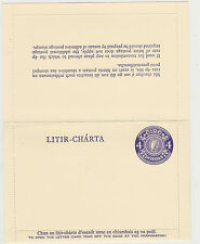 IRELAND, 1971 Letter Card, 4p, Mint - FAI: K 8vk2, MW: PSLC 8