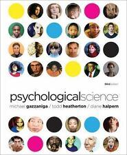 Psychological Science (Third Edition) by Halpern, Diane, Heatherton, Todd, Gazza
