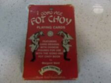 Vintage GONG HEE FOT CHOY playing cards BELGIUM VGCFortune Tarot VERY RARE