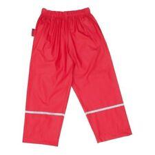 Pantalones de niña de 2 a 16 años rojo