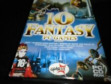 10 fantasy pc games (inc Myst & Heroes of might & magic III)   Pc Game