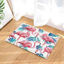 Door Mat Bathroom Rug Bedtoom Carpet Bath Mats Rug Non-Slip Pink flamingo