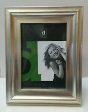 Lagra antique silver gold photo picture frame 5x7