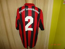 Bayer 04 Leverkusen Original Adidas Matchworn Trikot 2000/01 + Nr.2 Gr.XL