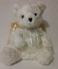 Vtg 2001 Avon Collectible 10 inch Talking & Singing Angel Teddy Bear with Wings