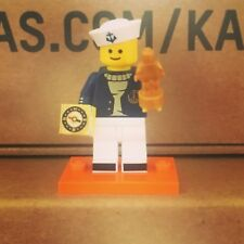 Lego Minifigures 40th Anniversary 2018 Series 18 Navy Chase Officer !