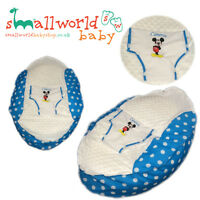 Personalised Boys Mickey Mouse Baby Bean Bag (NEXT DAY DISPATCH)