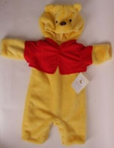 Pottery Barn Kids Disney Winnie the Pooh costume 0-6 months Halloween