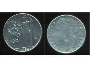 ITALIE  ITALY  100 lire 1992   ( etat )