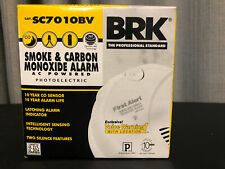 First Alert BRK SC7010BV Talking Photoelectric Smoke and Carbon Monoxide Alarm