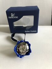 Swarovski Active Crystals Led Blue Wild Blossom Nib #1079499