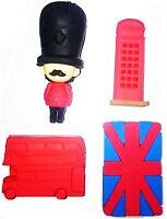 4pcs Rubber Eraser Set London Design School Party Stationary Gift Kids Souvenirs