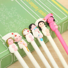 Doctor & Nurse Polymer Clay Ball Point Pen Stationery Office School Supply Tools