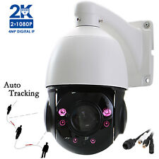 "4.5"" 1520P 4MP Auto Tracking IP PTZ Camera 20X Optical zoom Onvif IR HD Outdoor"