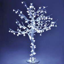 Albero di Natale Luminoso Con 384 Led Bianco Freddo H150cm Adami Ciliegio
