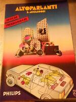 Vecchia pubblicita' ALTOPARLANTI E ACCESSORI HI-FI CAR PROGRAMMA 85 -vintage COL