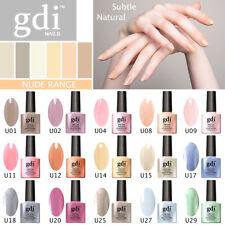 GDI NAILS - NUDE SUBTLE UV LED SOAK OFF GEL NAIL POLISH VARNISH - UK SELLER
