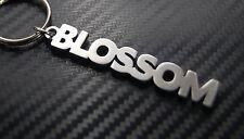 BLOSSOM Flower Nickname Keyring Keychain Key Fob Bespoke Stainless Steel Gift