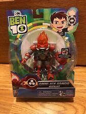 "2019 Ben 10 Omni Kid Armor Heatblast Action Figure 4"" - 5"""