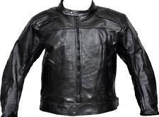 Leather Bike Jacket Rider Touring Vent Bike Motorcycle Harley Style Jacket