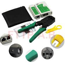 Rj45 Rj11 Rj12 Cat5 Cat5e Portable Lan Network Tool Kit Utp Cable Tester&Plier