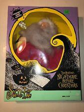 Tim Burton's Nightmare Before Christmas Santa Poseable Hand Puppet *Hasbro 1993