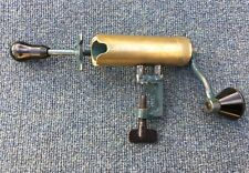 GIGANTIC VINTAGE 4g GAUGE BRASS ROLL TURNOVER RELOADING TOOL WILDFOWLING WAGBI