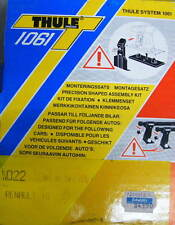 Thule Kit 022 Befestigungssatz für Dachträger Renault R 18 Träger Gepäckträger