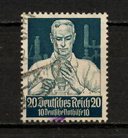 (YYAW 300) Germany 1934 USED Mich 562 Scott B65 SEMI Third Reich Nazi Chemist