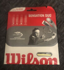 Wilson Sensation Duo String 16 GAUGE TENNIS STRING Buying One