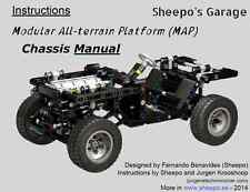 Sheepo's Lego Technic Modular All-terrain Platform MANUAL Chassis INSTRUCTIONS!!