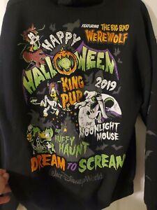 Disneys Happy Halloween 2019 Hoodie Sweatshirt size large