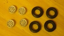 """1/43rd scale Dunlop wheels  for cars with 15"""" wheels by K&R Replicas"""