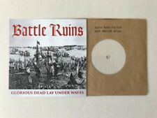 Battle Ruins - very rare 7'',Glorious Dead,only 23 copies. Hardcore/Oi/Rival Mob