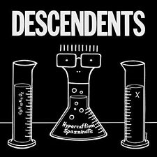 THE DESCENDENTS Hypercaffium Spazzinate 2016 CD All Black Flag The Last etc