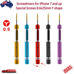 Screwdriver for iPhone 11 X 8 7 Series Apple Watch 0.6mm Y Tri Point Repair Tool