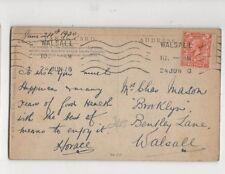 Chas Mason Brooklyn Bentley Lane Walsall 1920 490a