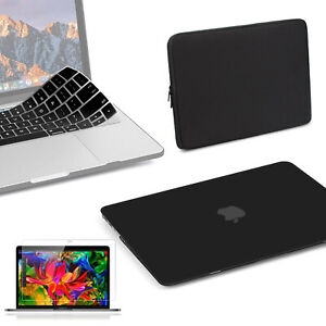 """Apple 16"""" MacBook Pro with Touch Bar, 4-IN-1 Case+Keyboard Cover+LCD+Sleeve Bag"""