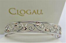 Clogau Silver & Rose Gold Tree of Life Cuff Bangle