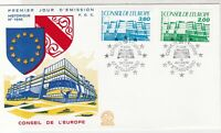 France 1987 Council of Europe Picture Slogan Cancels & Stamps FDC Cover Ref27459