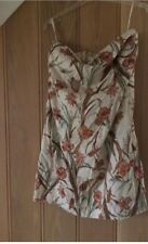JOULES COTTON  STRAPLESS SUNDRESS  Size 14